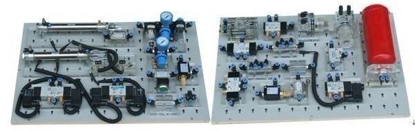 实训气路,控制电路安全可靠,设有手动,自动,顺序等控制功能